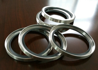 PTFE / PTFE SS Shaft Oil Seal With Single Or Double Lips For Air Compressor