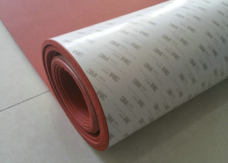 Cina 100% Elongation Silicone Foam Rubber Sheet / 3M Adhesive Backed Rubber Sheets pemasok