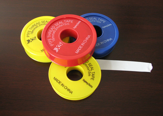 Industrial Seal Pure PTFE Tape / PTFE Tape 6-50m Length 0.075-0.2mm Thinkness
