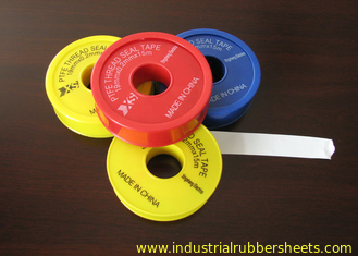 Cina Industrial Seal Pure PTFE Tape / Teflon Tape 6-50m Panjang 0,075-0,2mm Thinkness pemasok