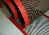 Cina High Strength Glass Fiber Woven Fabric PTFE Mesh / Teflon Mesh Screen perusahaan