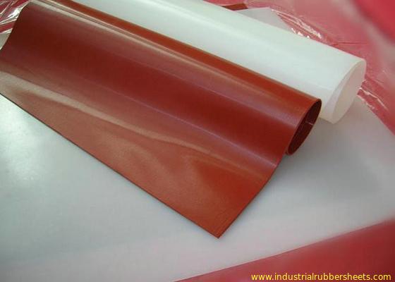 Cina Tembus 100% Lembaran Karet Silicone Virgin Rolls Food Grade Tanpa Bau Distributor