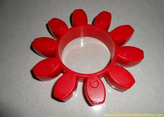 Cina Pakai Resistant Red Polyurethane Coupling, 98 Shore A GR atau PU Coupling Distributor