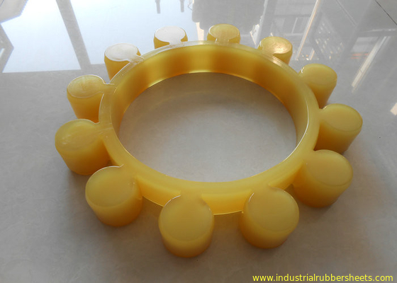 High Durability Yellow Polyurethane Spider Coupling / Kopling MT Shaft